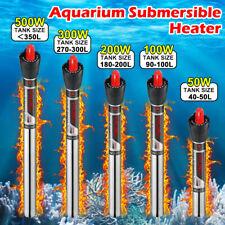 Aquarium Heater Fish Tank Submersible Tropical Marine Heater Thermostat