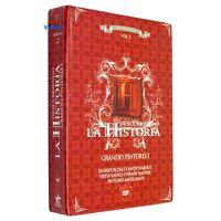 Grandes Pintores DVD Video Vol.2 Descubriendo la Historia 3 Discs Spanish Audio