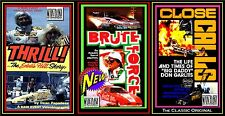 Drag Racing Legendary Heroes 3-pak: BRUTE FORCE, THRILL!, CLOSE CALLS