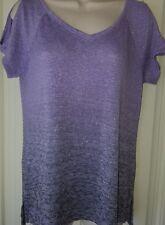 juicy couture womens top size m lavanda/purple