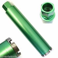 """2-1/2"""" Wet Diamond Core Drill Bit for Concrete - Premium Green Series"""