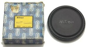 Vintage Genuine Nikon 80mm Push On Front Lens Cap Made in Japan New Old Stock