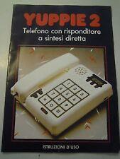 MANUALE D'ISTRUZIONI - TELEFONO YUPPIE 2 - BRONDI - VINTAGE C10-913