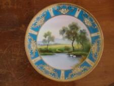 Porcelain/China Tableware Blue Date-Lined Ceramics