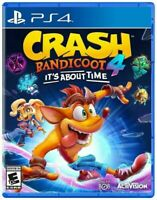 Crash Bandicoot 4: It's About Time PS4 Playstation 4 Brand New Sealed