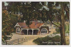 VICTORIA - Mineral Springs, Hepburn postcard, pub.Ajax Series,early 1900s,unused
