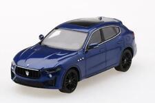 True Scale 1/43 Maserati Levante Super Trofel Blu Emozione TSM430400