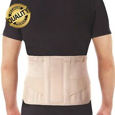 Lumbar Back Support Brace Belt - Lower Back Pain Relief - Unisex - All Sizes