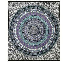 Hippie Elephant Large Tapestry Wall Hanging Mandala Printed King Size Tapestry