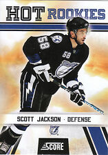 10/11 SCORE HOT ROOKIE RC #550 SCOTT JACKSON LIGHTNING *3490