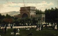 Sunday Afternoon Concert Golden Gate Park San Francisco California CA Postcard