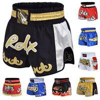 RDX Muay Thai Fight Shorts MMA Grappling Kick Boxing Trunks Martial Arts CA
