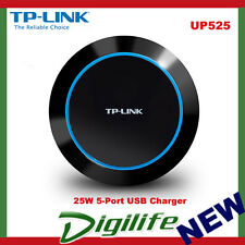 TP-Link UP525 25W 5-Port USB Smart Charger 1.65X Intellgent Fast Charger