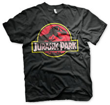 Official JURASSIC PARK Logo Unisex T-Shirt Tee NEW sizes S-XXL IN STOCK NOW