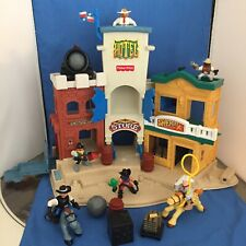 Vintage Fisher-Price Great Adventures Wild Western Town 77052 Nearly Complete