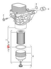 Filter element with Gasket AUDI VW Audi A3 Cabriolet 03N115562