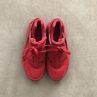 Nike Boys Kids Air Huarache Running Sneakers Mesh Varsity Red Size 4