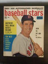 Ted Williams - Red Sox - 1954 BASEBALL STARS Magazine