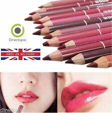 12 Colour Lip Liner Pencil Smooth Pro Waterproof Lipliner Make Up