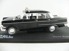 "IXO #92 Opel Kapitän PII (1959-1964) ""TAXI"" in schwarz 1:43 NEU/PC-Vitrine"