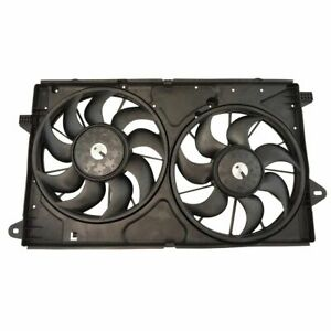 Dual Engine Radiator & Condenser Cooling Fan Assembly for Buick Chevy Cadillac