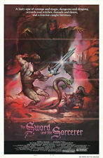 The Sword and the Sorcerer (1982) original movie poster style B - ss - folded