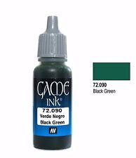 Vallejo Game Color - Black Verde