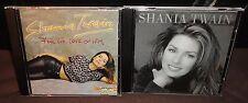 Shania Twain - For The Love Of Him & Shania Twain (CD's)