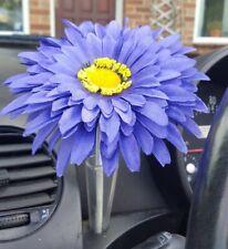 VW flower large 15CM Blue with gem & bee dashboard VW  Beetle Auto-Ersatz- & -Reparaturteile Auto & Motorrad: Teile
