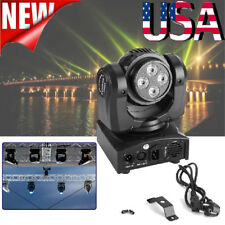 90W 8LED RGBW Double Sides Moving Head Stage Light DMX Club Disco Party Lighting