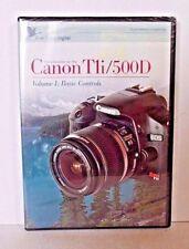 Blue Crane Instructional DVD for Canon T1i/500D Digital Camera Vol 1 Basic Cont.