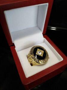 1968 Detroit Tigers Ring & Wooden Display Box MLB World Series Championship