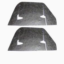 1962-1964 Impala Belair Biscayne A-Arm Flaps Seals w/Staples Pair