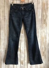 """Citizens of Humanity """"Dita"""" Petite Mid-Rise Bootcut Dark Wash Jeans 24 RARE!"""