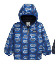 Patagonia Baby Reversible Down Sweater Hoody  The Fantastics Superior Blue 2T