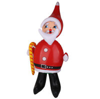 "Inflatable Santa Claus 39"" Blow Up Christmas Decorations Airblown Inflatable"