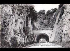 MORRE / PERCEE du TROU-AU-LOUP (25) TUNNEL , Route de BESANCON à la SUISSE