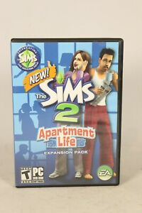 The Sims 2 Apartment Life Expansion Pack (PC CD-Rom, 2008)