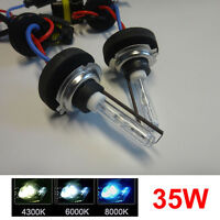 2PCS 35W METAL BASE H7 HID Xenon Replacement Bulb Headlight Lamp Car Auto Light