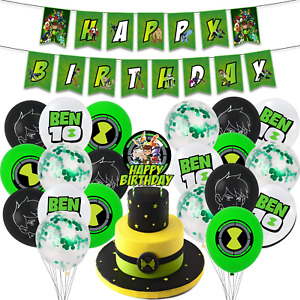 Ben 10 party supplies birthday , ben 10 birthday party supplies Set includes h