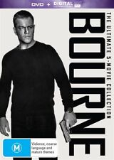 Jason Bourne 1 2 3 4 5 The Ultimate Collection Box Set DVD R4