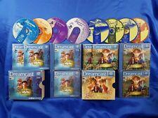 Sega Dreamcast SHENMUE & SHENMUE II 2 Very Rare Games Bundle RPG Complete PAL