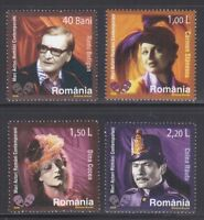 Romania 2006 MNH Mi 6142-6145 Sc 4895-4898 Romanian Actors & Actresses