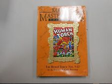 Marvel Masterworks #142! The Human Torch #'s 9-12! Factory sealed NOS HC! LOOK!