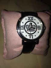 Beautiful Juicy Coutour, Stainless Steel Case, Leather Calf Skin Strap, Japanese