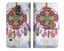 Dream Catcher Wallet Case Cover For Samsung Galaxy S5 - A016