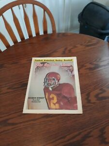 NOVEMBER 13,1976-THE SPORTING NEWS-RICKY BELL OF THE USC TROJANS(NM)