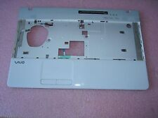 Sony VAIO VPCEB VPC-EB Series Palmrest/Touchpad Assy  *White* 012-111A-3016