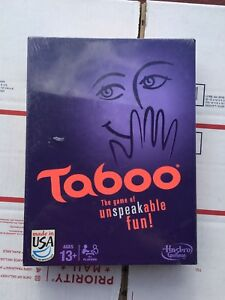 Board Game - Taboo The Game Of Unspeakable Fun by HASBRO Brand New!
