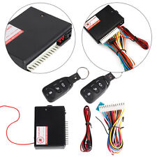 Car Doors Keyless Locking Kit Remote Central Vehicle Entry System DT Universal